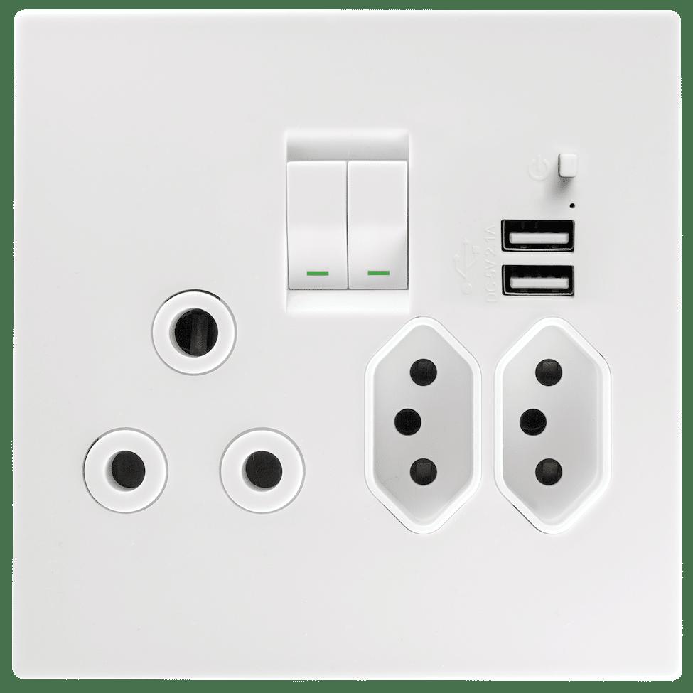 Topaz USB Combo Socket 15231 601 (1)